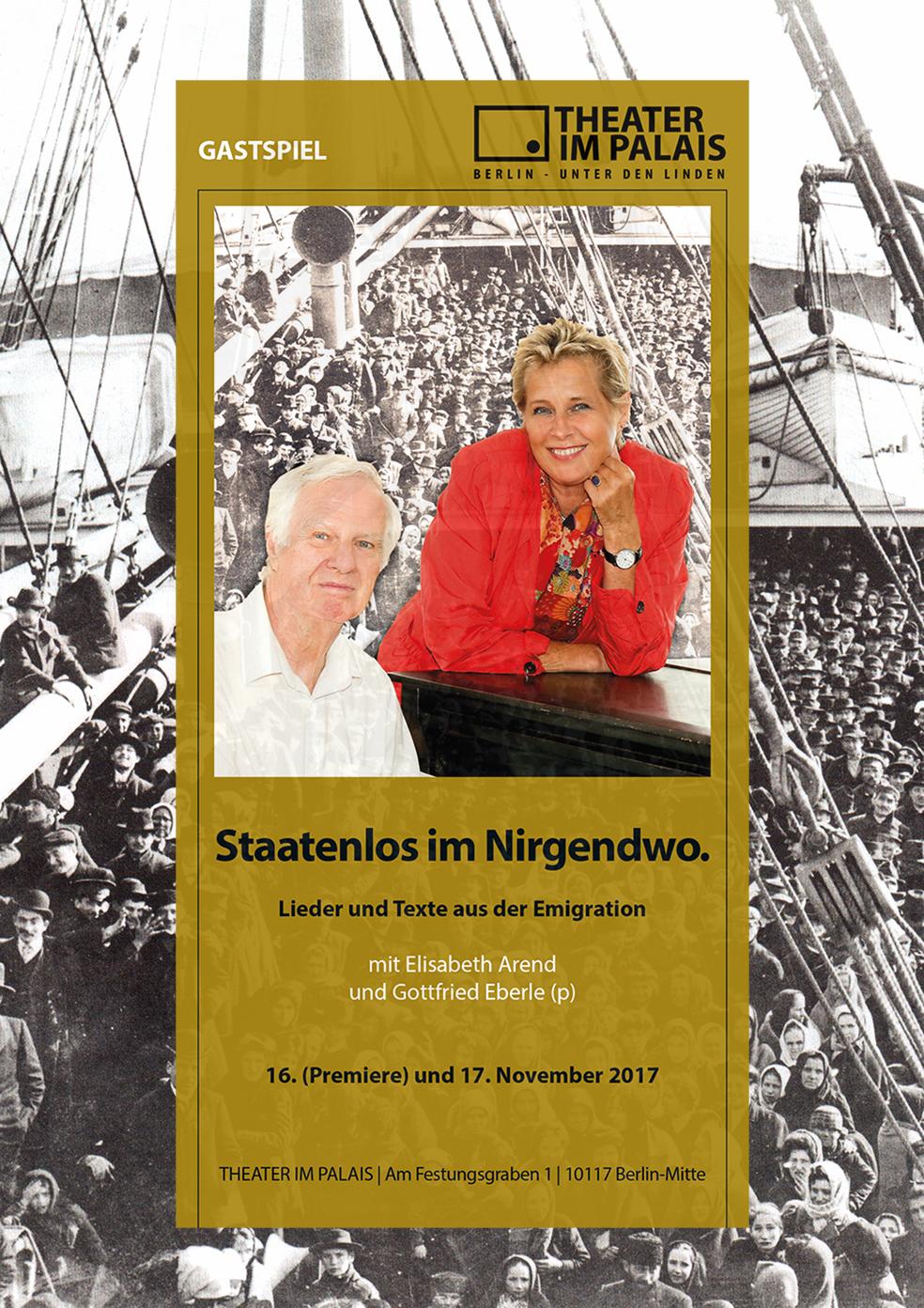 Elisabeth Arend Bert Brecht Staatenlos Im Nirgendwo